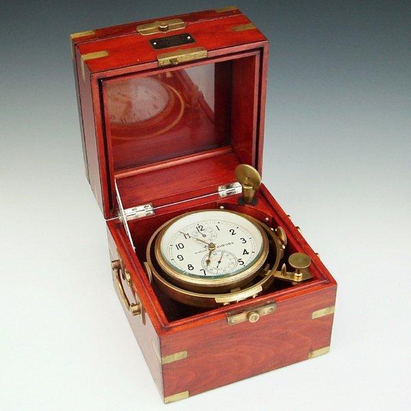 364: Soviet marine chronometer, 56 hours fusee movement