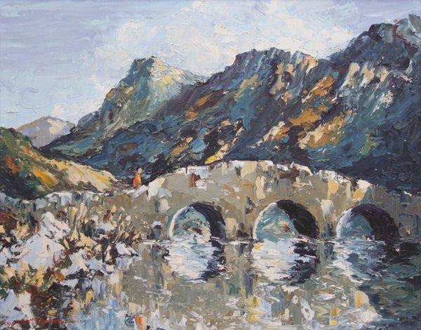 1: Charles Wyatt Warren (1908-1993),   Bridge near Nant