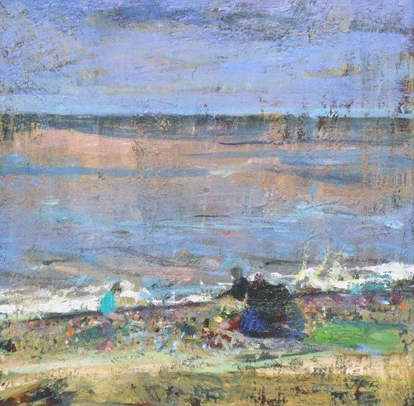 5: Jason Richard Bowyer (1957-),  Windy Day, Walberswic
