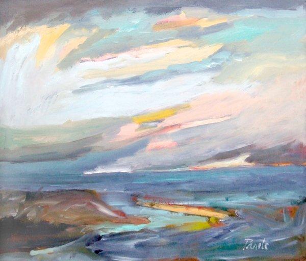 6: John Pawle (1915-),  Flood Tide - Blakeney, signed,