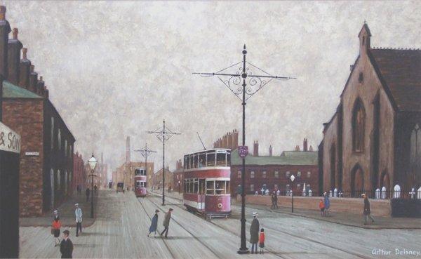 8: Arthur Delaney (1927-1987),  Portwood, Stockport, si