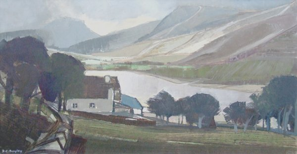 9: Donald C. Bayley, 20th century,  Buttermere, Lake Di
