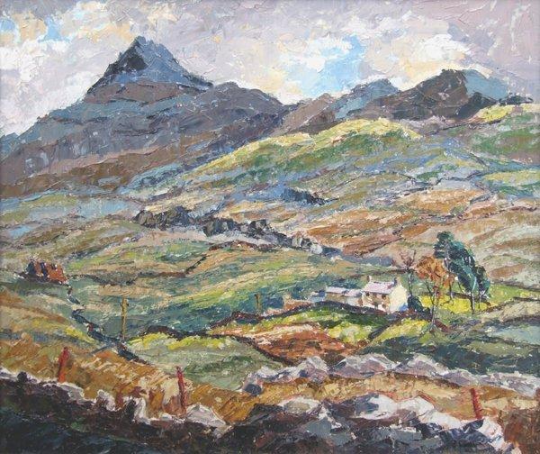 16: May Thomas, 20th century,  Cnicht near Beddgelert,