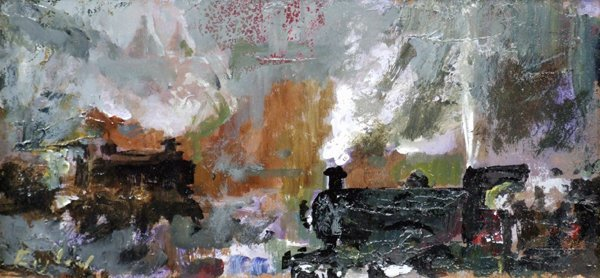 18: Frederick J. England (1939-),   Shunting at Wedgwoo