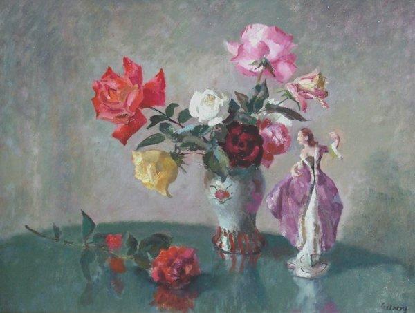 23: John Thomas Young Gilroy (1898-1985),  Still life s