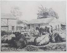 126: Charles Frederick Tunnicliffe (1901-1979), Farmya