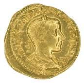 Gordian III. AD 238-244 Gold Aureus, gVF.