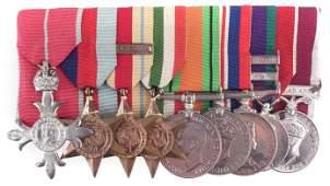 Lieutenant Colonel R.A. Bowman M.B.E. 16/5 Lancers