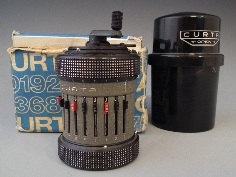 Curta type II calculator.