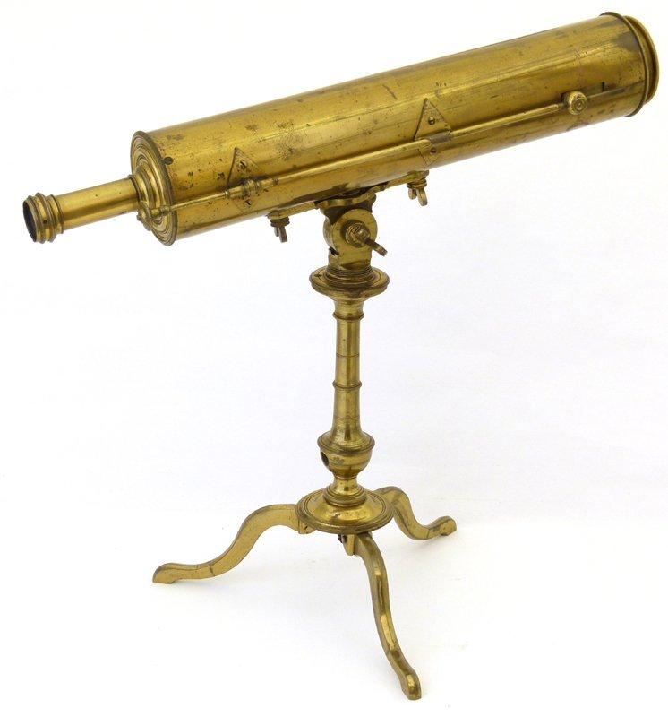 George III reflecting telescope original spectrum