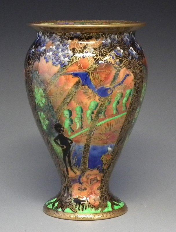 Wedgwood Fairyland lustre vase.