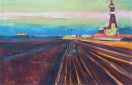 Paul Bassingthwaighte Last Light Blackpool oil