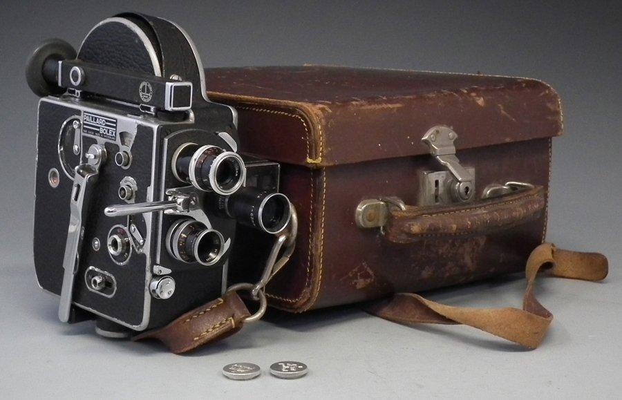 Pailard Bolex cine camera serial number 178797, fitted