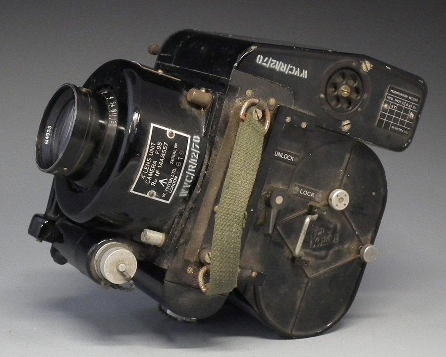 Vinten F.95 airborne reconnaissance camera serial