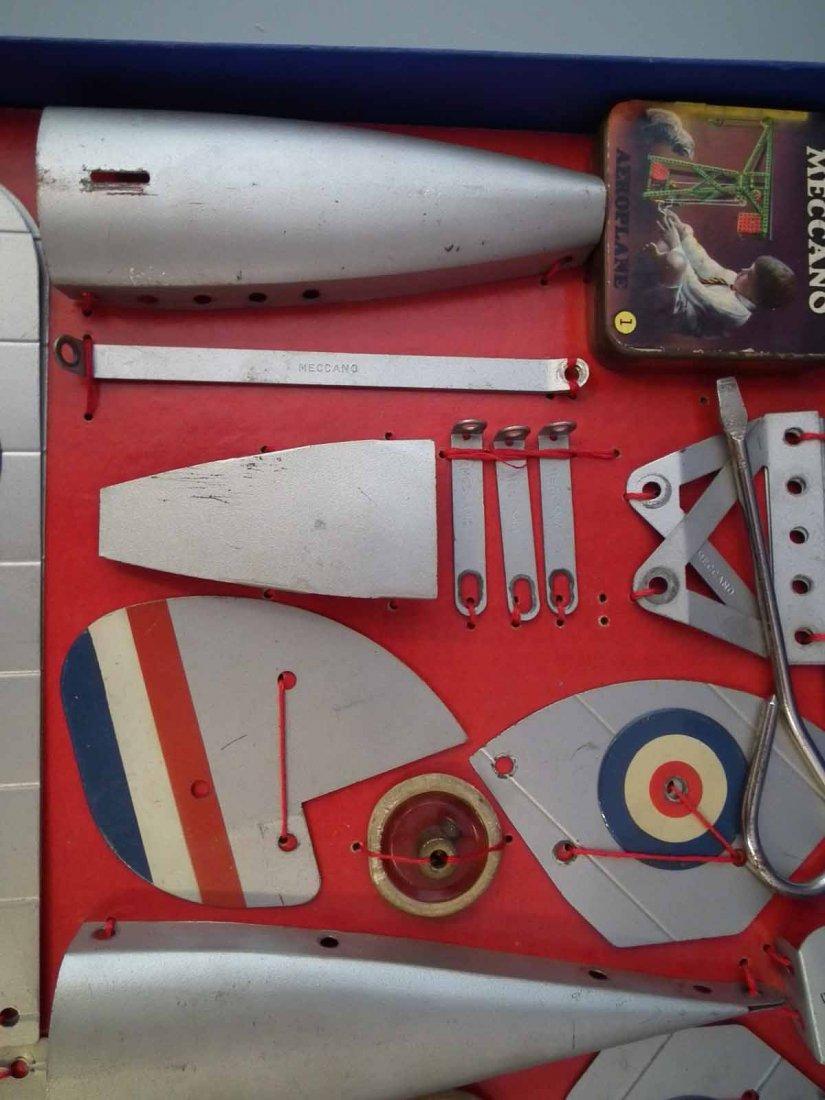 Meccano Aeroplane Constructor Set 1   with original - 4