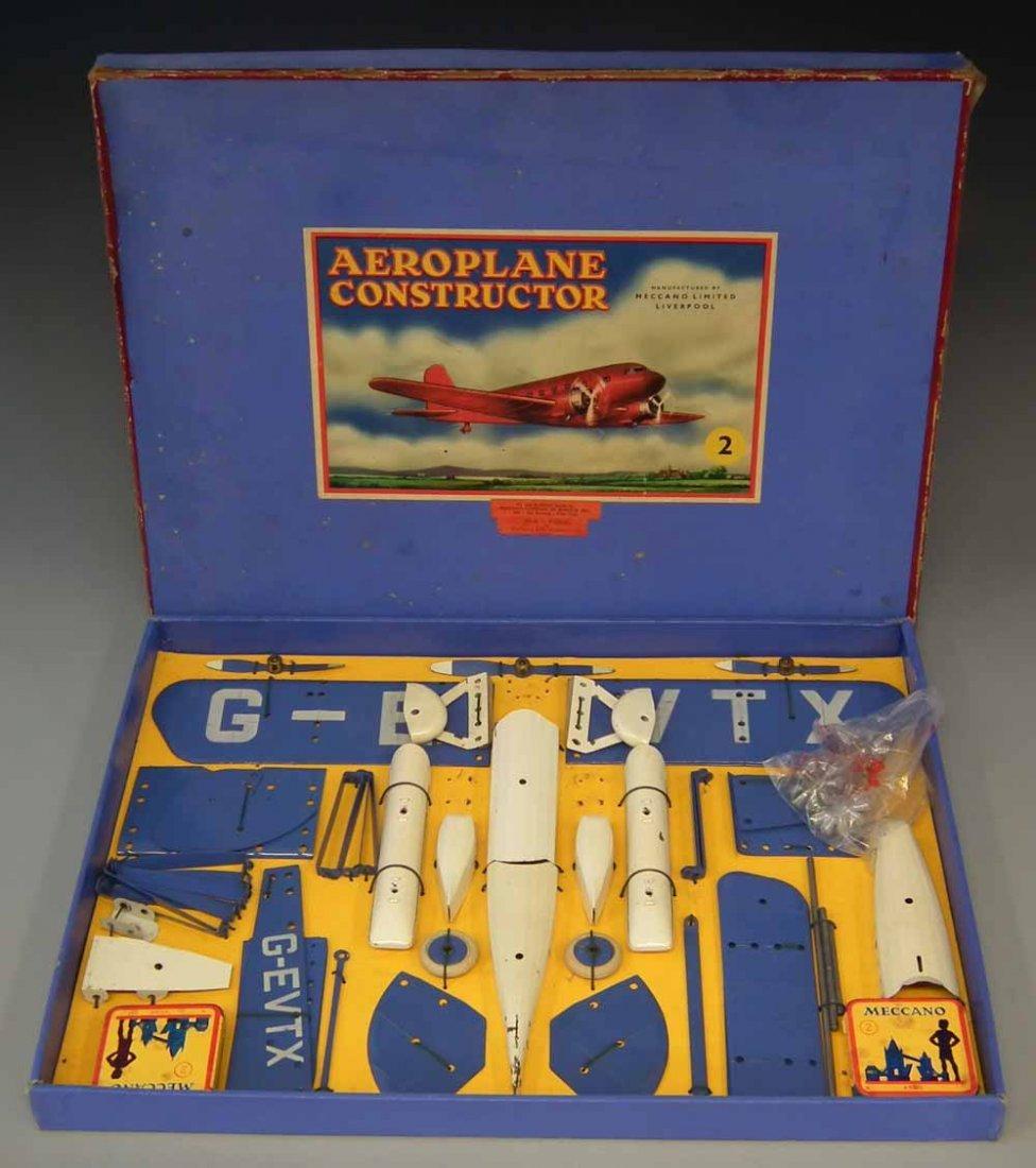 Meccano Aeroplane Constructor Set 2  with original box.