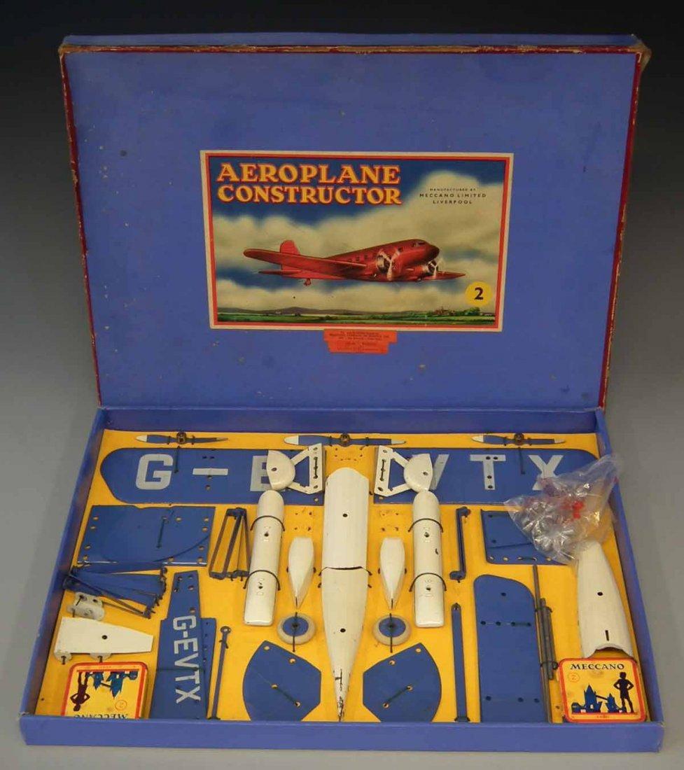 Meccano Aeroplane Constructor Set 2  with original box. - 2