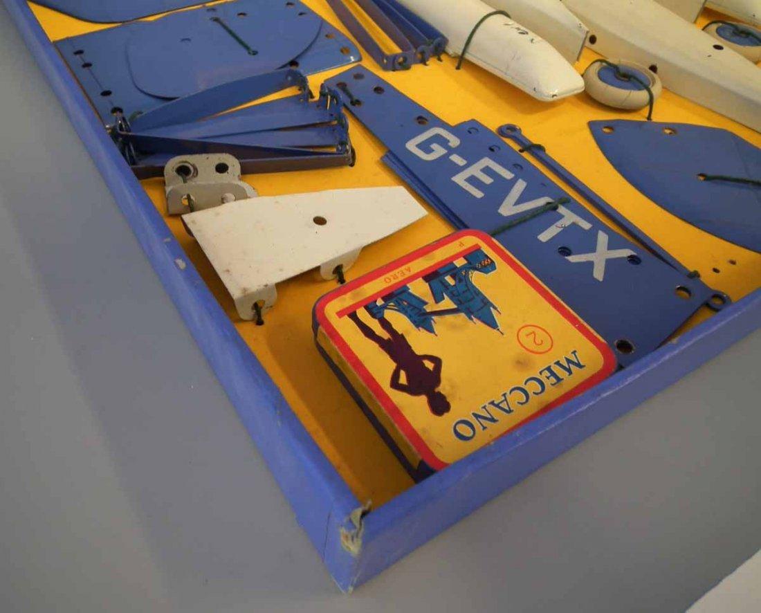 Meccano Aeroplane Constructor Set 2  with original box. - 7
