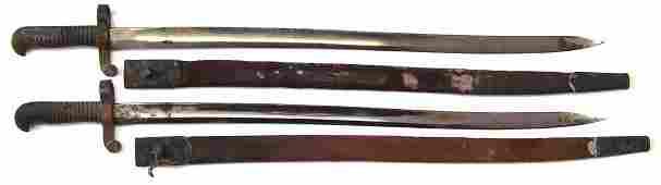 Two US Civil war era Merrill Rifle M1862 pattern Naval