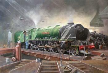 """4: Richard Simm, """"City of Stoke-on-Trent"""", oil"""