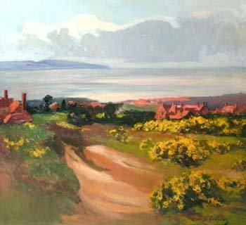 9: Joseph Andrews, Dee Estuary, oil