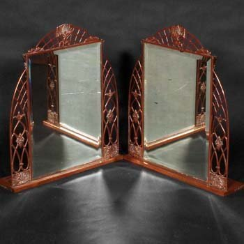 482: Pair of Art Deco mirrors