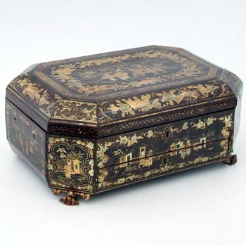 494: Chinese sewing box