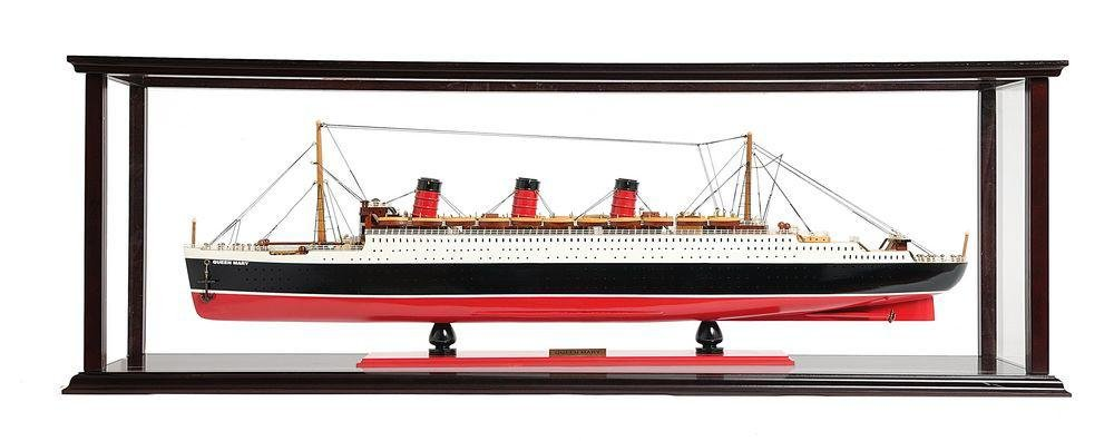 Queen Mary Large with Display Case