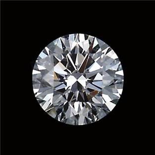 GIA CERT 1 CTW ROUND DIAMOND E/VVS2
