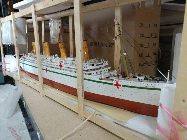 Ready To Run Remote Control RMS Britannic 50in. Limited