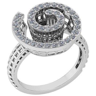 Certified 0.50 Ctw Diamond Wedding/Engagement Style 14K