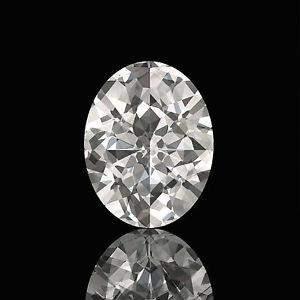 GIA CERT 0.31 CTW OVAL DIAMOND G/SI2