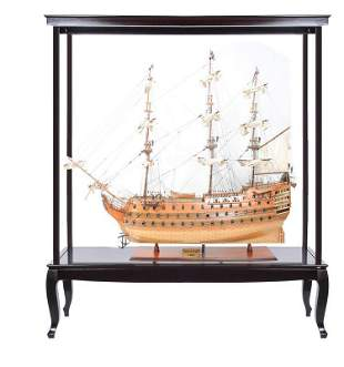 """HMS Victory 56 XL With Display Case XL No Glass"""""""