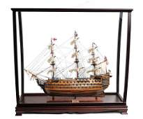 HMS Victory Midsize With Display Case