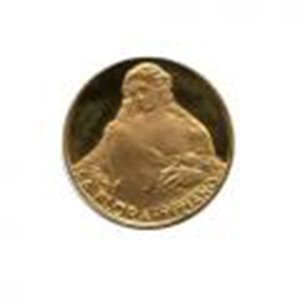 Great Works of the Past gold art medal 6.0 g. PF La Flo