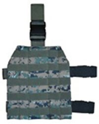Woodland Digital Camo MOLLE Drop Leg Platform