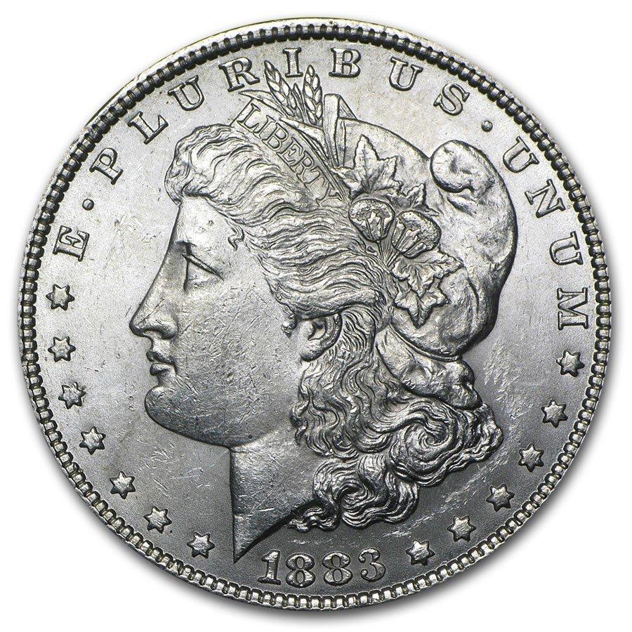 1883 Morgan Dollar BU