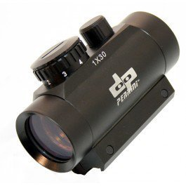 Green Dot Scope 1x30 For Crossbows And Air Rifles; 3/8t