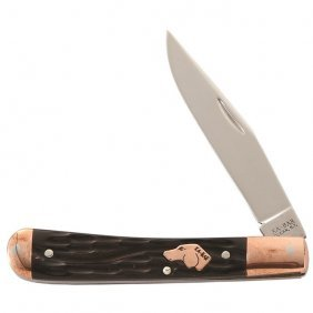 Ka-bar Coppersmith - Trapper, Str Edge Knife