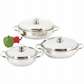 Precise Heat 6pc 12-element Sauté Set