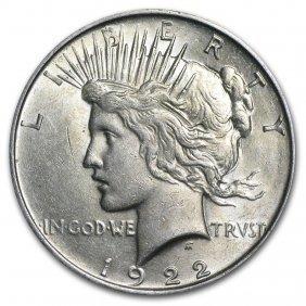 1922-1935 Peace Silver Dollars Au