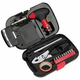 Maxam 16 Pc Emergency Tool Set