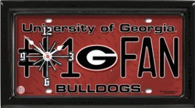 Bulldogs Clock
