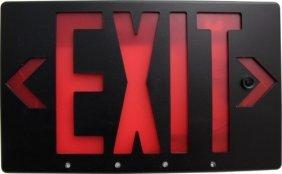 Bush Baby Ip Exit Sign W/ Hidden Camera