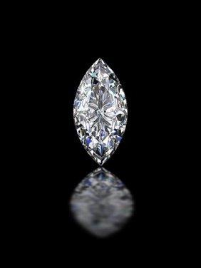 Gia Cert 0.76 Ctw Marquise Diamond H/i1