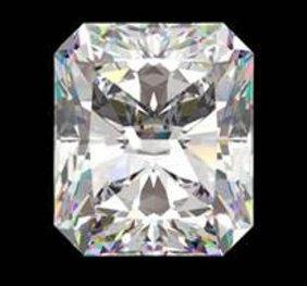 Gia Cert 0.71 Ctw Radiant Diamond K/vvs2