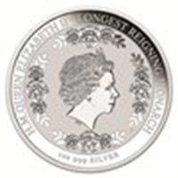 2015 Australia 1 Oz Silver Longest Reigning Monarch Pro