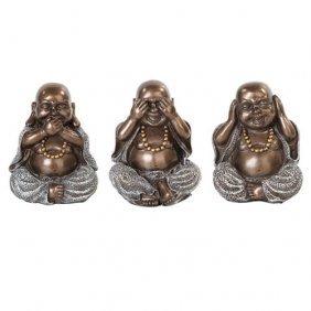 3 Wise Buddha Set