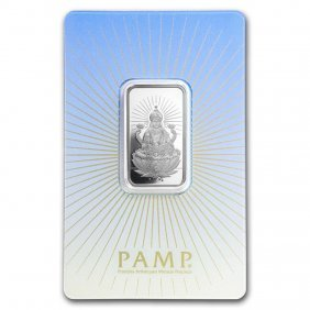 10 Gram Silver Bar - Pamp Suisse Religious Series (laks