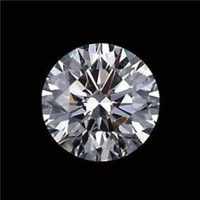 Gia Cert 0.34 Ctw Round Diamond J/vvs2